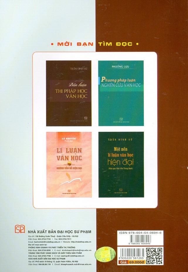 Giáo Trình Lí Luận Văn Học - Tác Phẩm Và Thể Loại Văn Học