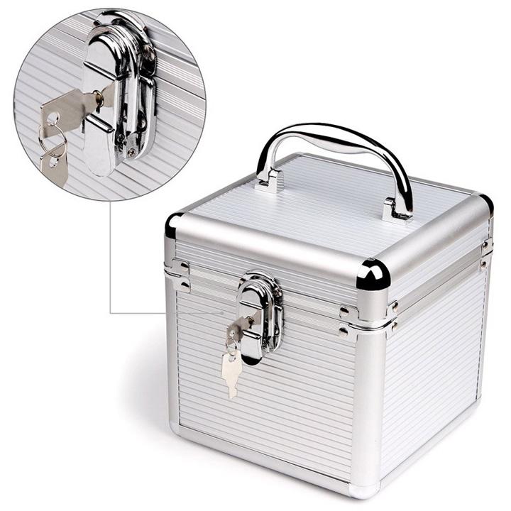 Hộp nhôm bảo vệ 6 ổ cứng 3.5 inch và 2.5 inch BX501