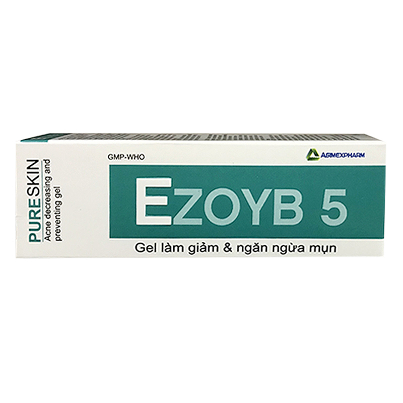 Gel Bôi Ezoyb 5 Giúp Giảm Và Ngăn Ngừa Mụn Trứng Cá (10g)