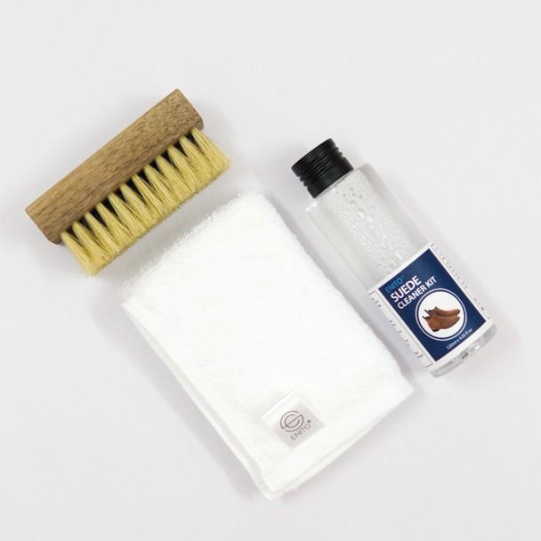 Bộ vệ sinh giày da lộn, da nubuck Enito Suede Cleaner Kit (120ml )