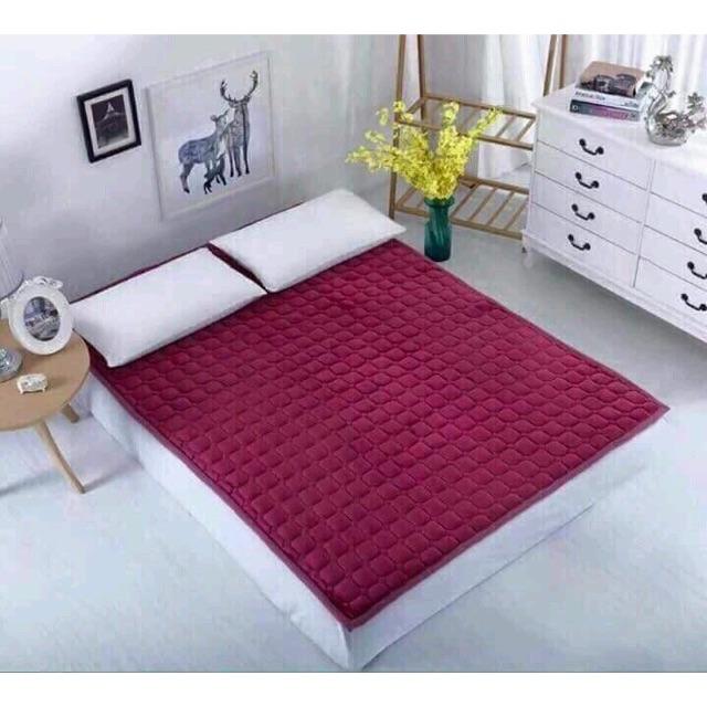 Thảm nhung trải giường mùa đông 2mx2.2m (Ngẫu nhiên)
