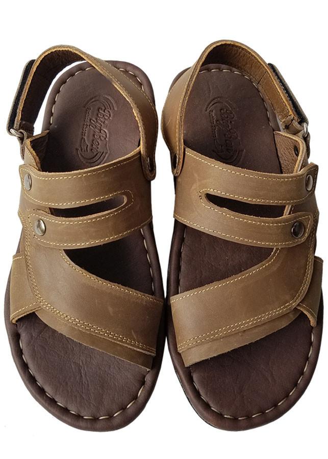 Giày Sandal Nam Da Bò BIGGBEN Cao Cấp SD102