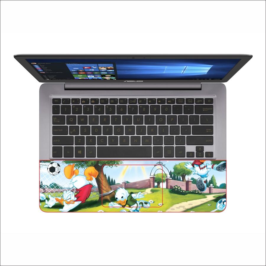 Miếng Dán Skin Decal Dành Cho Laptop - Vịt Donald - Mã 008T11