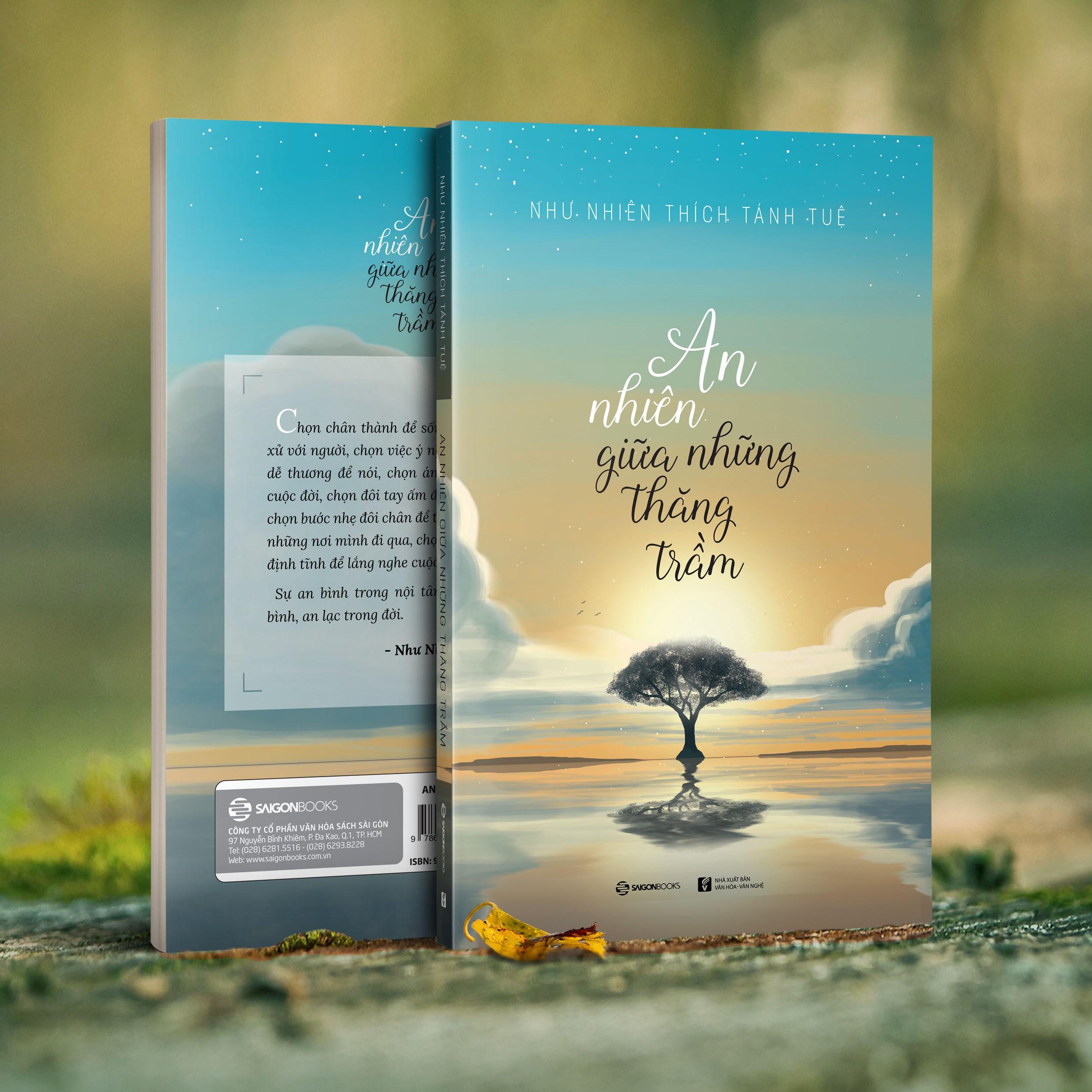 Combo 4 cuốn: An Nhiên Giữa Những Thăng Trầm + Hạnh Phúc Là Lối Ta Đi + Thả Trôi Phiền Muộn + Sống Đời Bình An