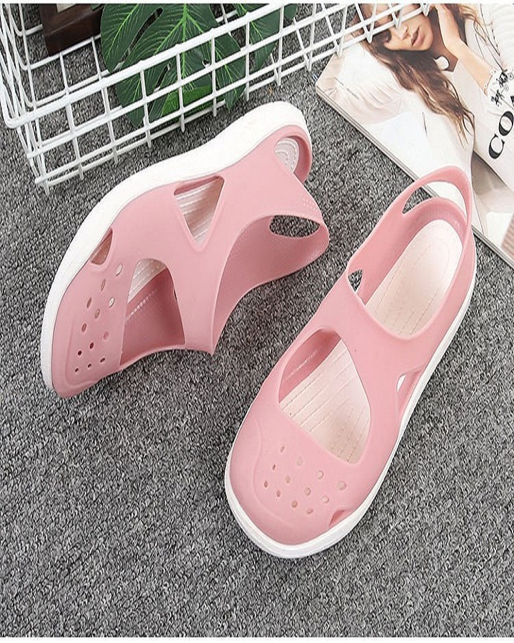 Giày sandals nữ - giày đi mưa cao cấp