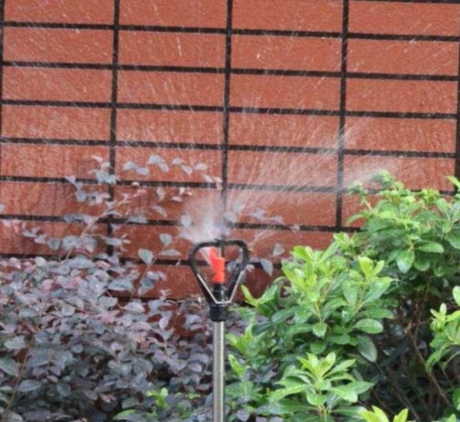 bộ 10 béc phun mưa trục inox