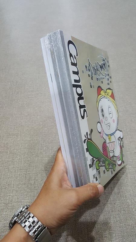 Vở Doraemon Graffity Kẻ Ngang Có Chấm - 200 Trang Khổ B5 - NB-BDGF200 (Lốc 5 Cuốn) - Mẫu 2