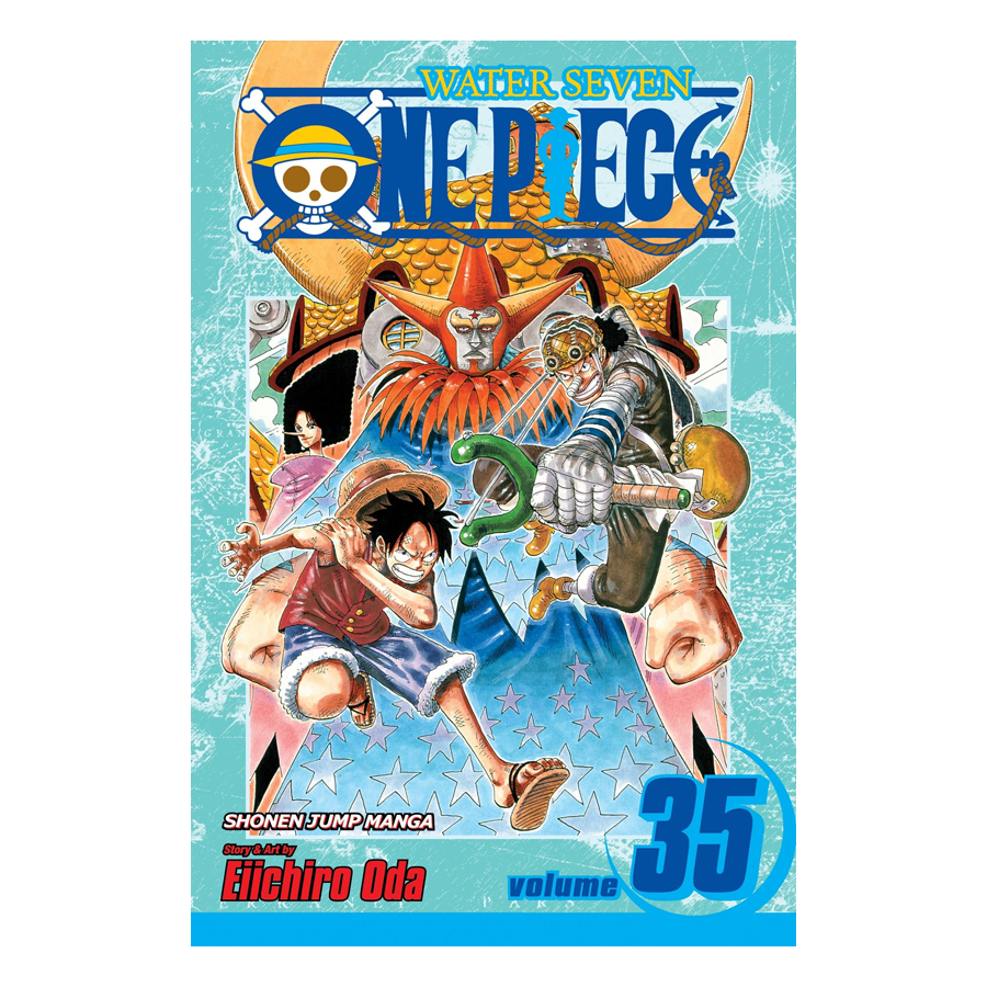 One Piece 35 - Tiếng Anh
