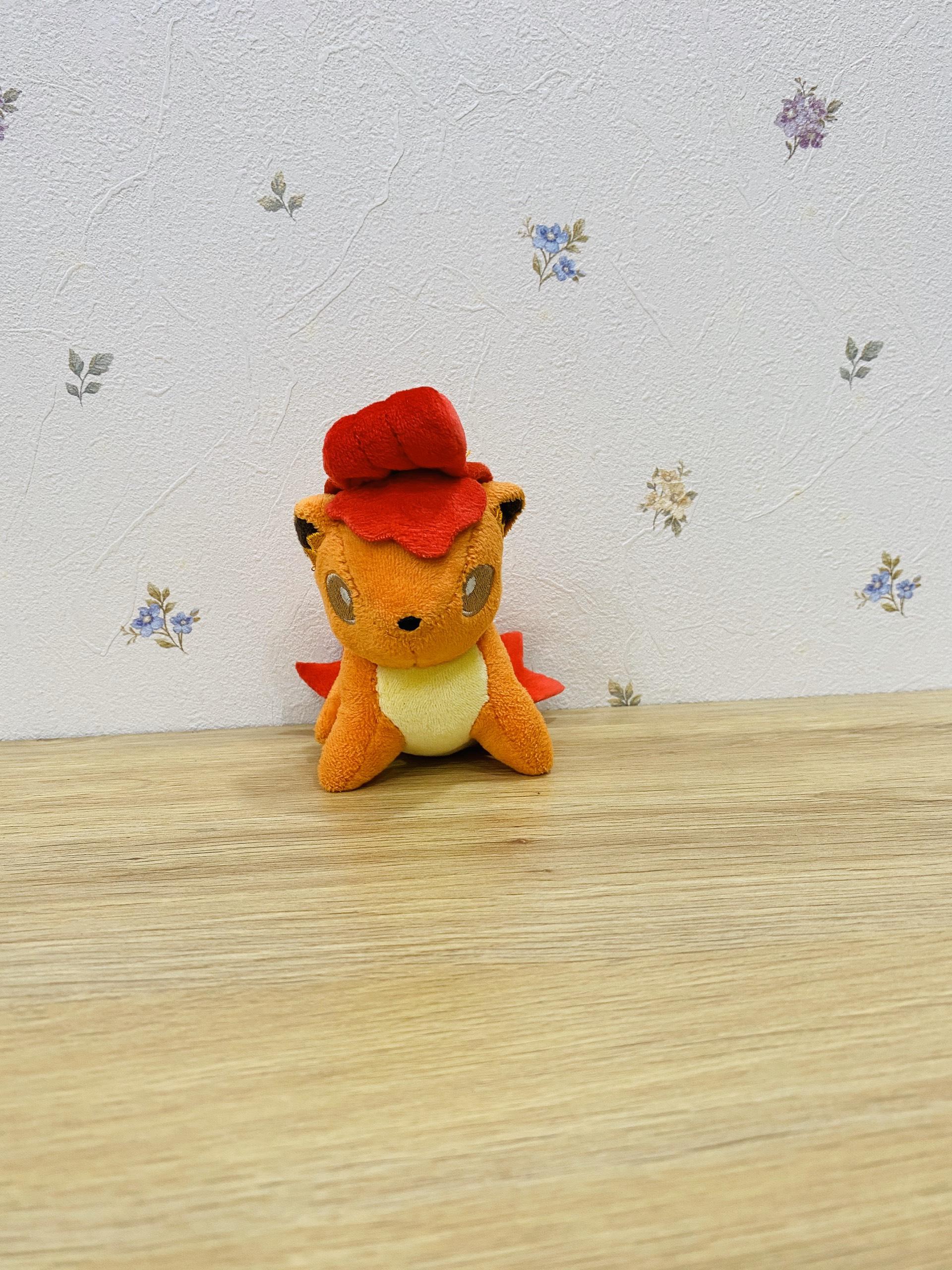 Gấu bông Pokemon nhện Ariados - Tặng kèm móc khóa Pokemon cao cấp