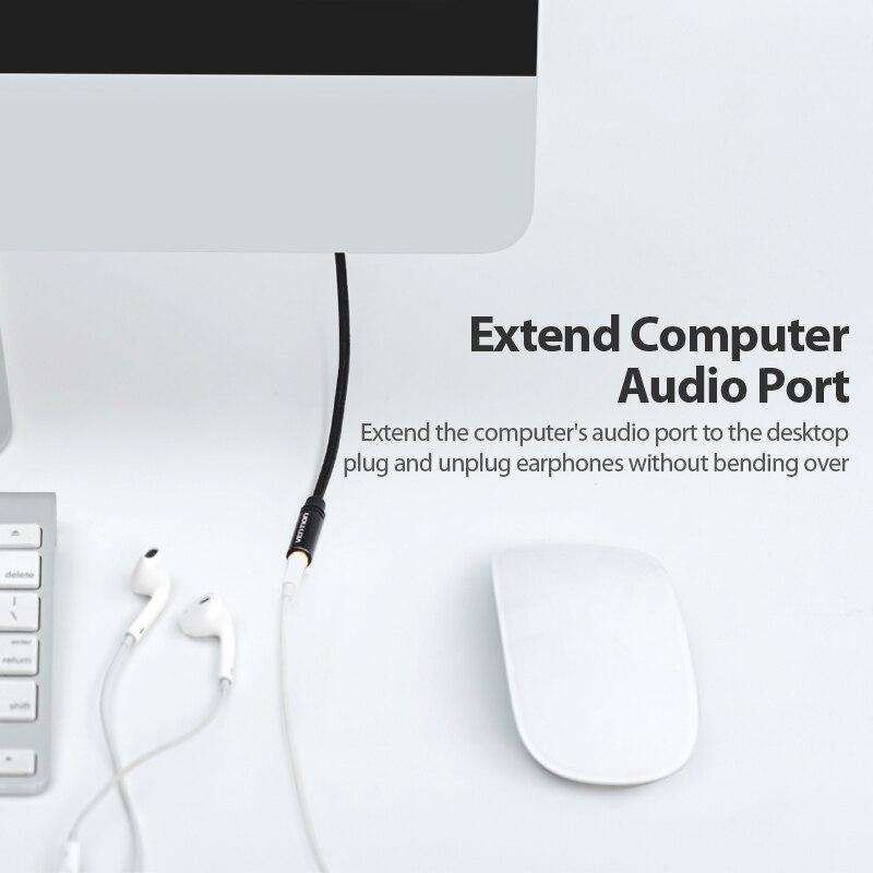 Cáp audio 3.5mm nối dài Vention BHBBI dài 3m - Hàng chính hãng