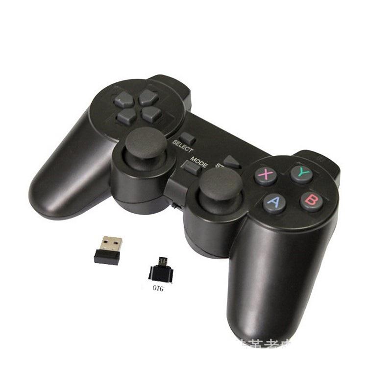 Gamepad khônd dây wireless + OTG cho máy tính - Android - Smart TV