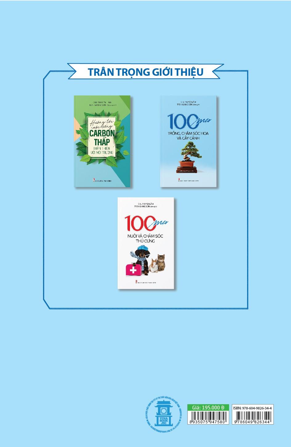 100 Mẹo Trồng, Chăm Sóc Hoa Và Cây Cảnh