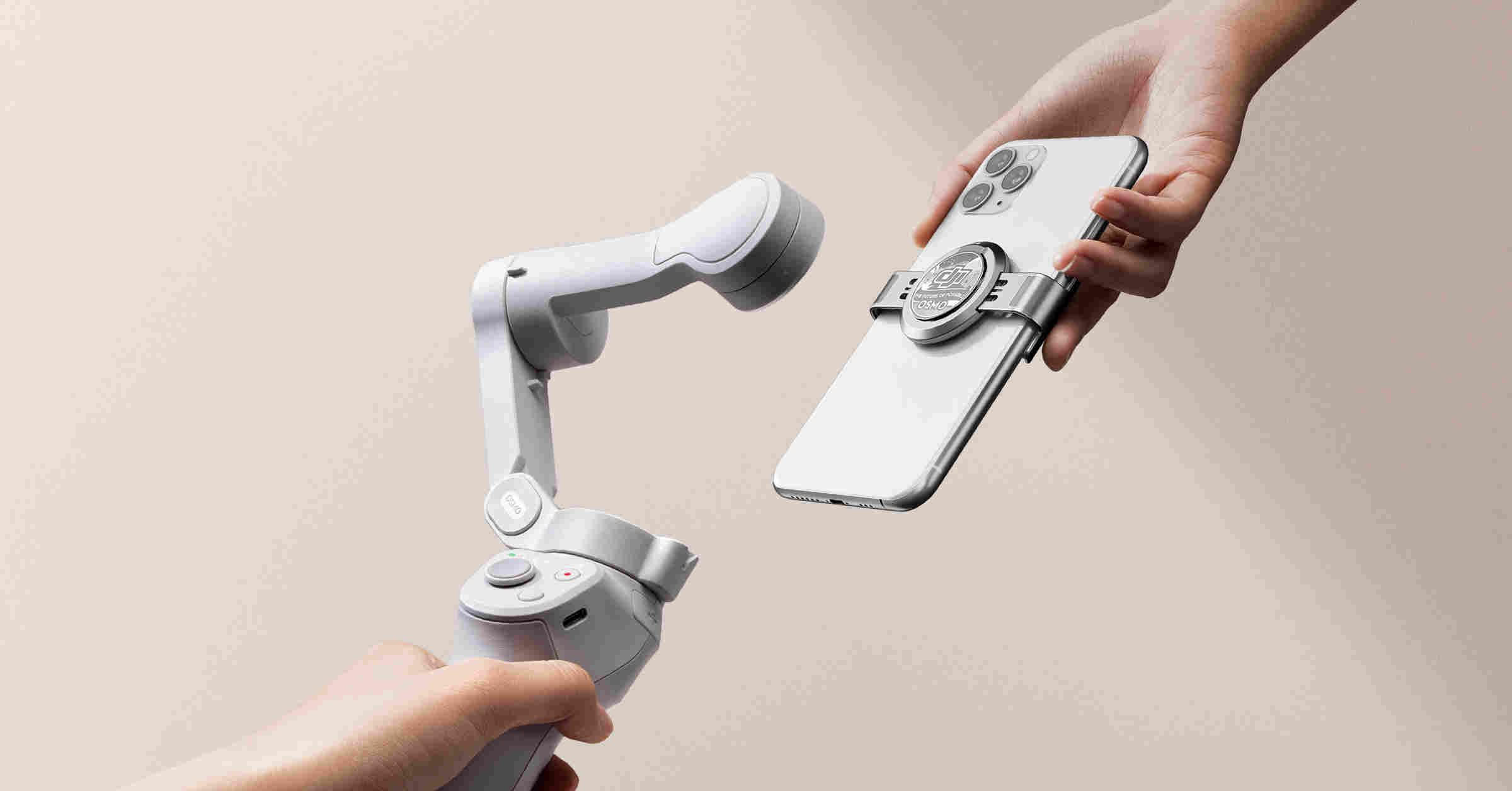 Hình ảnh Tay cầm chống rung cho điện thoại DJI OM4 (Osmo Mobile 4) - Hàng chính hãng