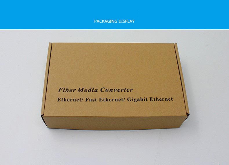 GS-1201W18 AB 1Gbps Media Converter 1FO 8LAN - Bộ Chuyển Đổi Quang Điện 1 Sợi 8 Cổng LAN
