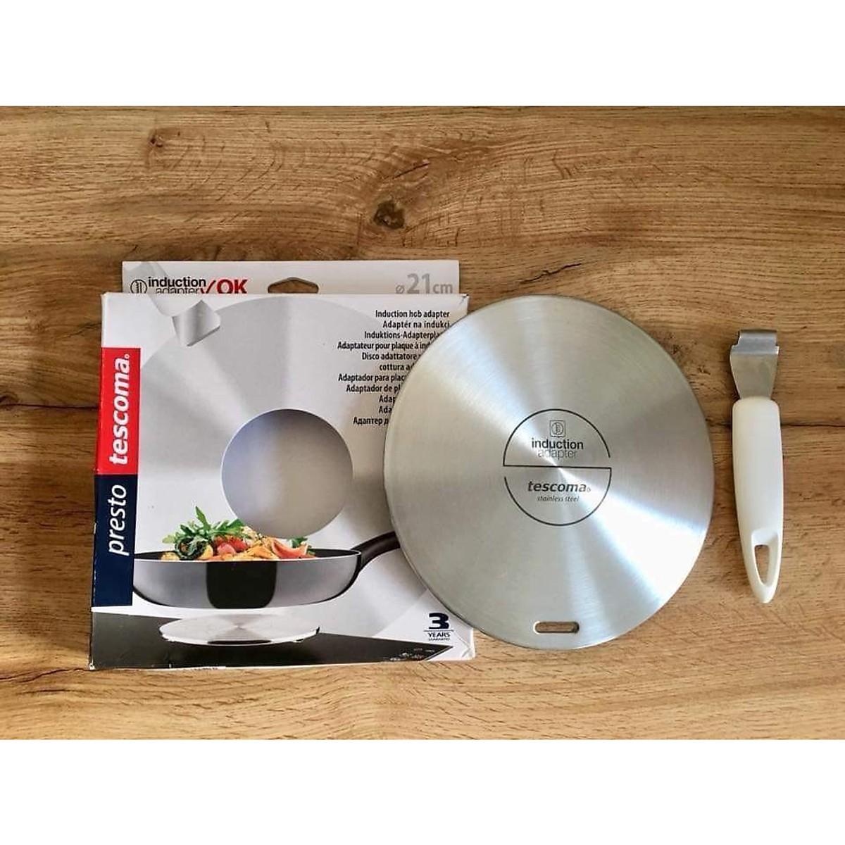 Combo Bếp điện từ kết hợp KAFF KF-FL109 + Đĩa chuyển nhiệt Tescoma Đức - Hàng Chính Hãng