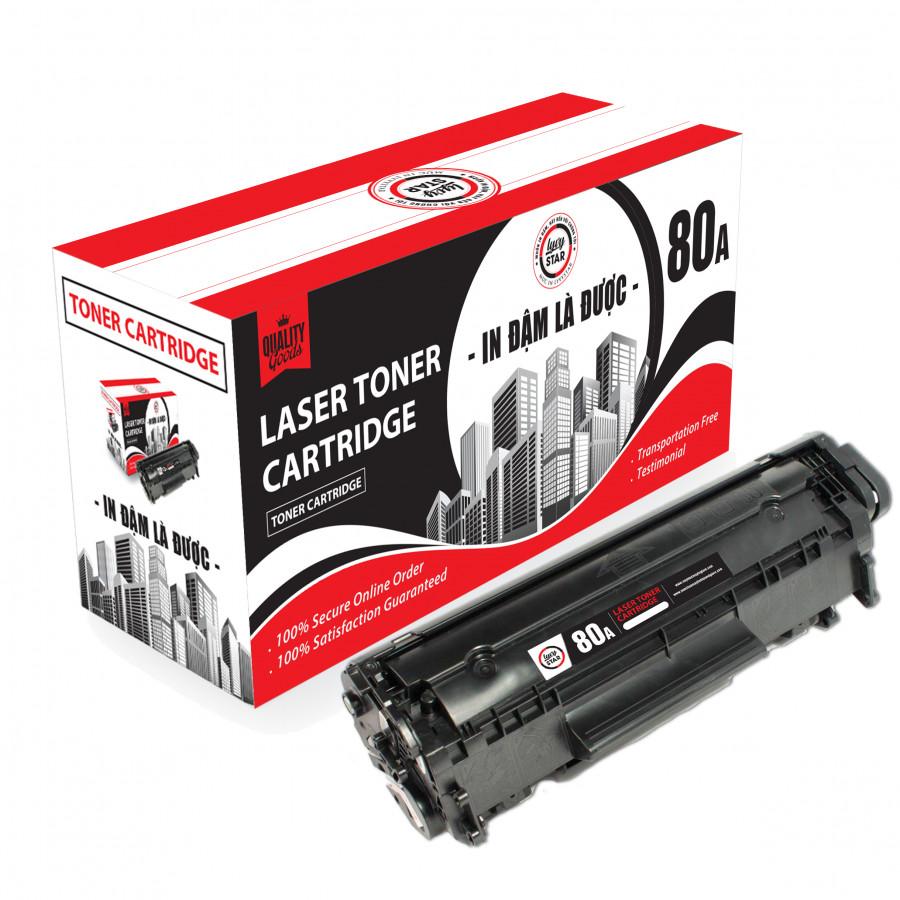 Hộp mực 80A sử dụng cho máy in HP Pro 400 Printer M401n / M401D / M401dn / m425dn và Cano 6650 - Hàng nhập khẩu