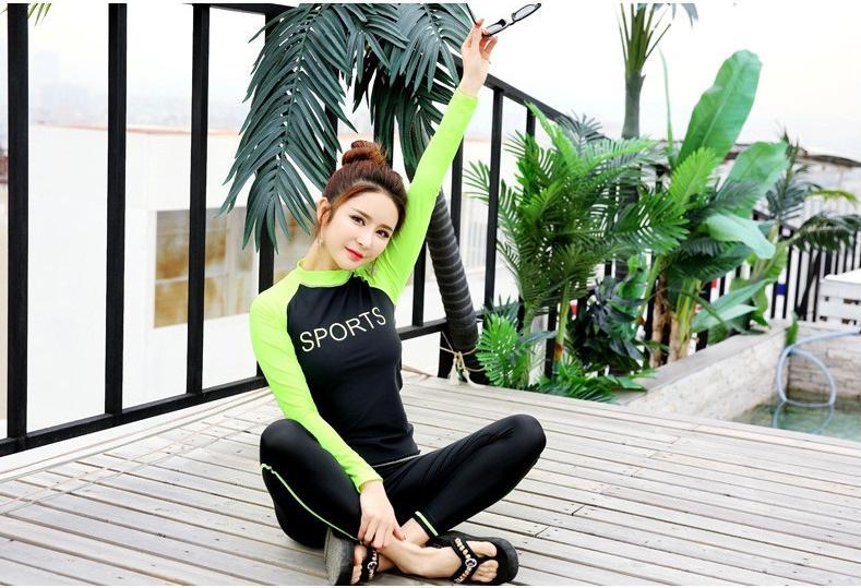 Đồ bơi dài tay quần dài cao cấp SPORT