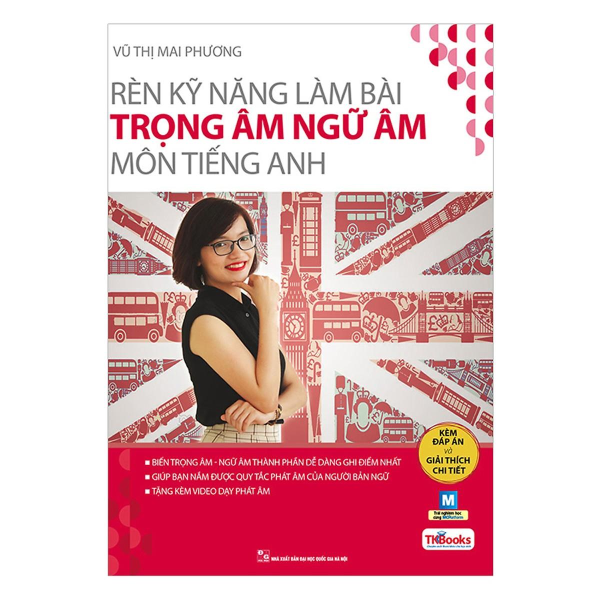 Combo 3 Bộ Sách Tiếng Anh Cô Mai Phương (Tặng kèm Bookmark PL)