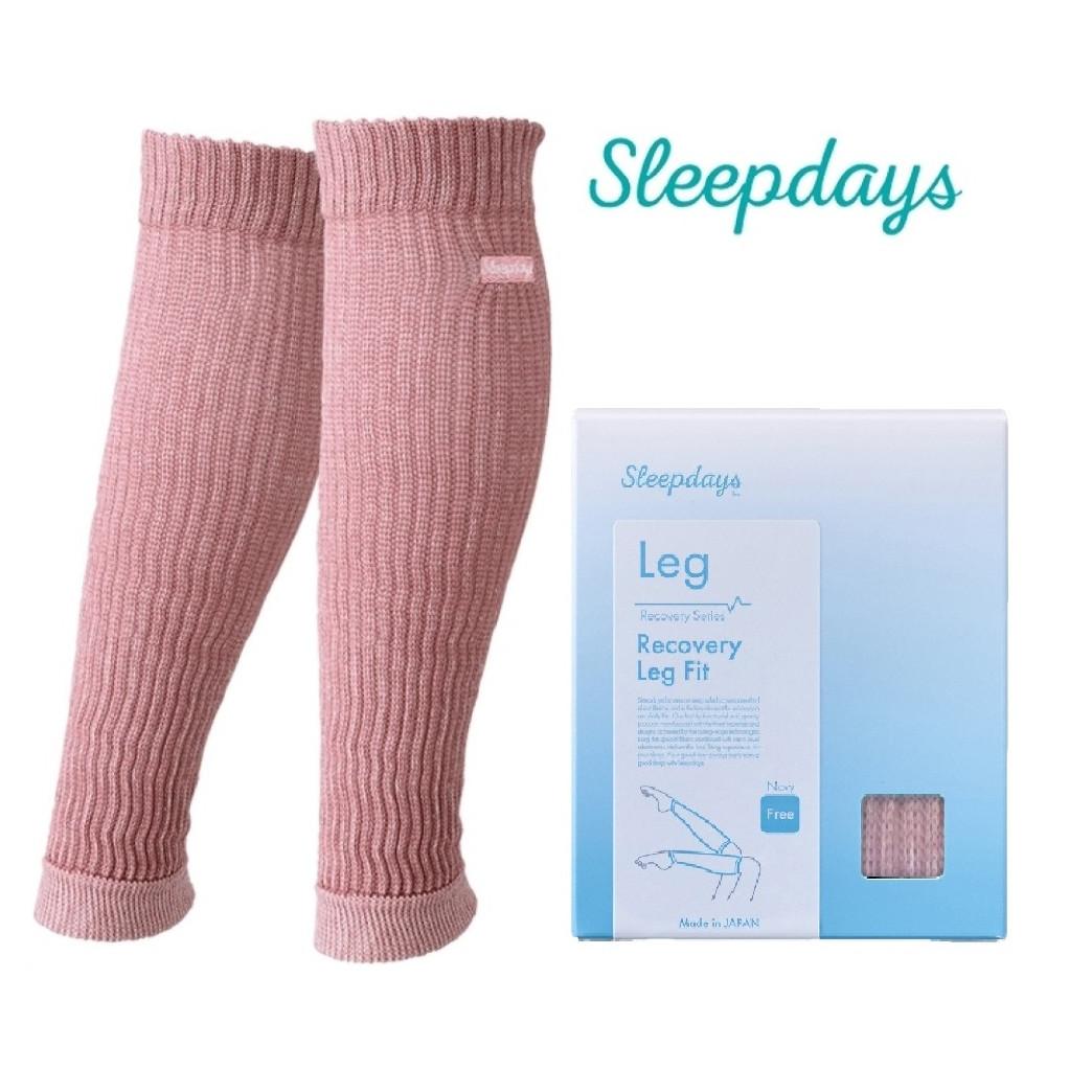 Tất nano Sleepdays Nhật hỗ trợ phục hồi chân (màu hồng)