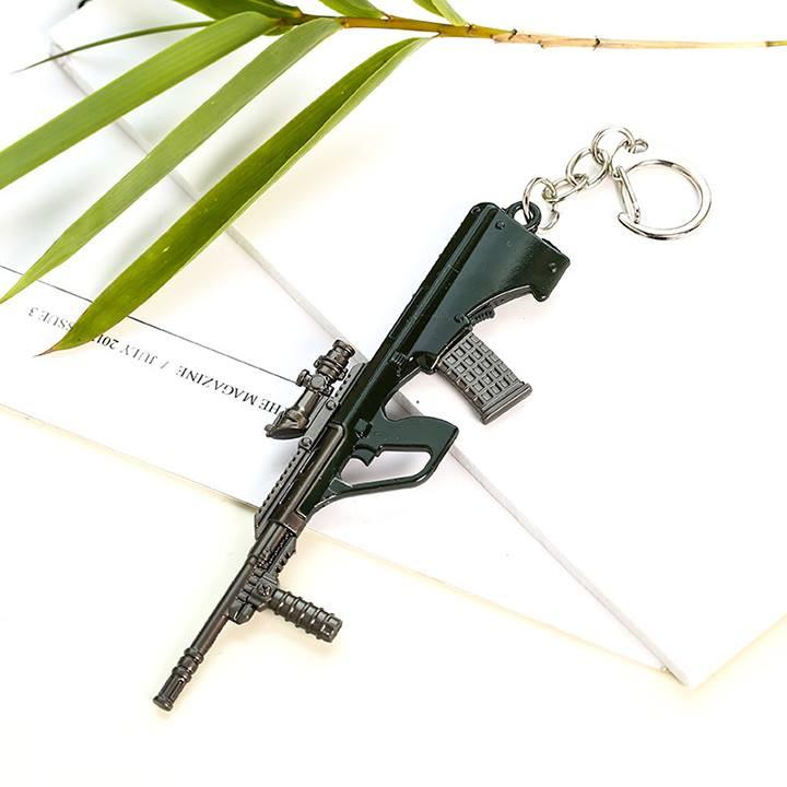 Móc khóa mô hình trong Game PUBG Mẫu MK-S-AUG