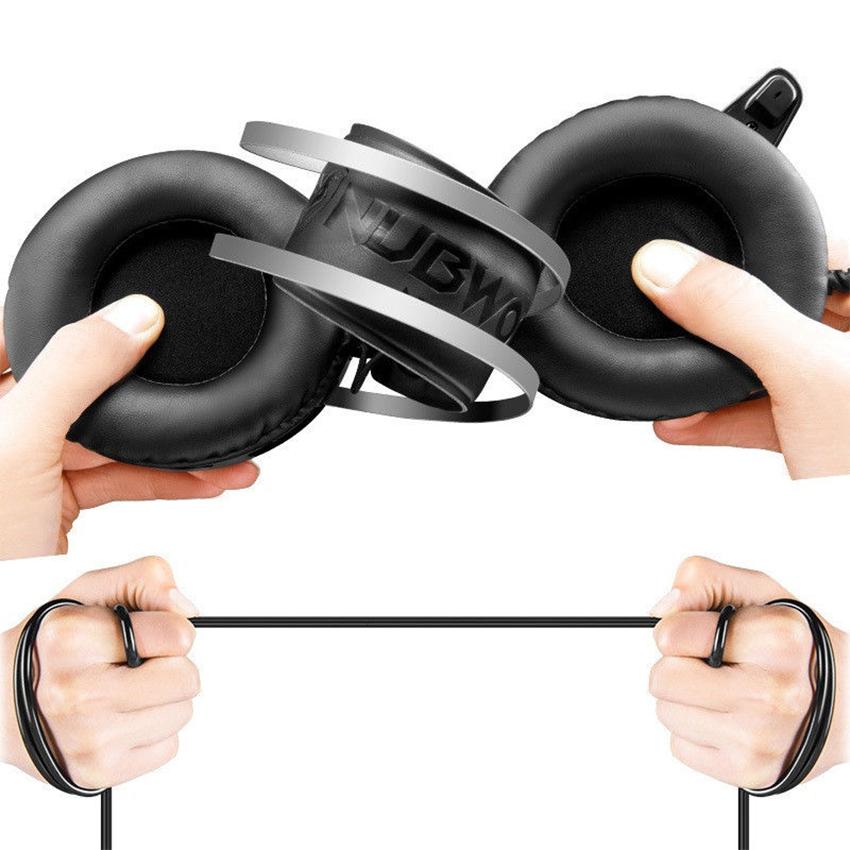 Tai nghe chụp tai chuyên Game Nubwo N1 LED (Đen) - Hàng Nhập Khẩu
