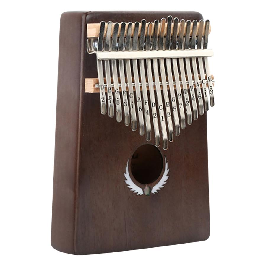 Đàn Kalimba 17 Phím Gỗ Mahogany Yael Y17M-W - Khảm Bào Ngư Cánh Kèm Kèn Kazoo