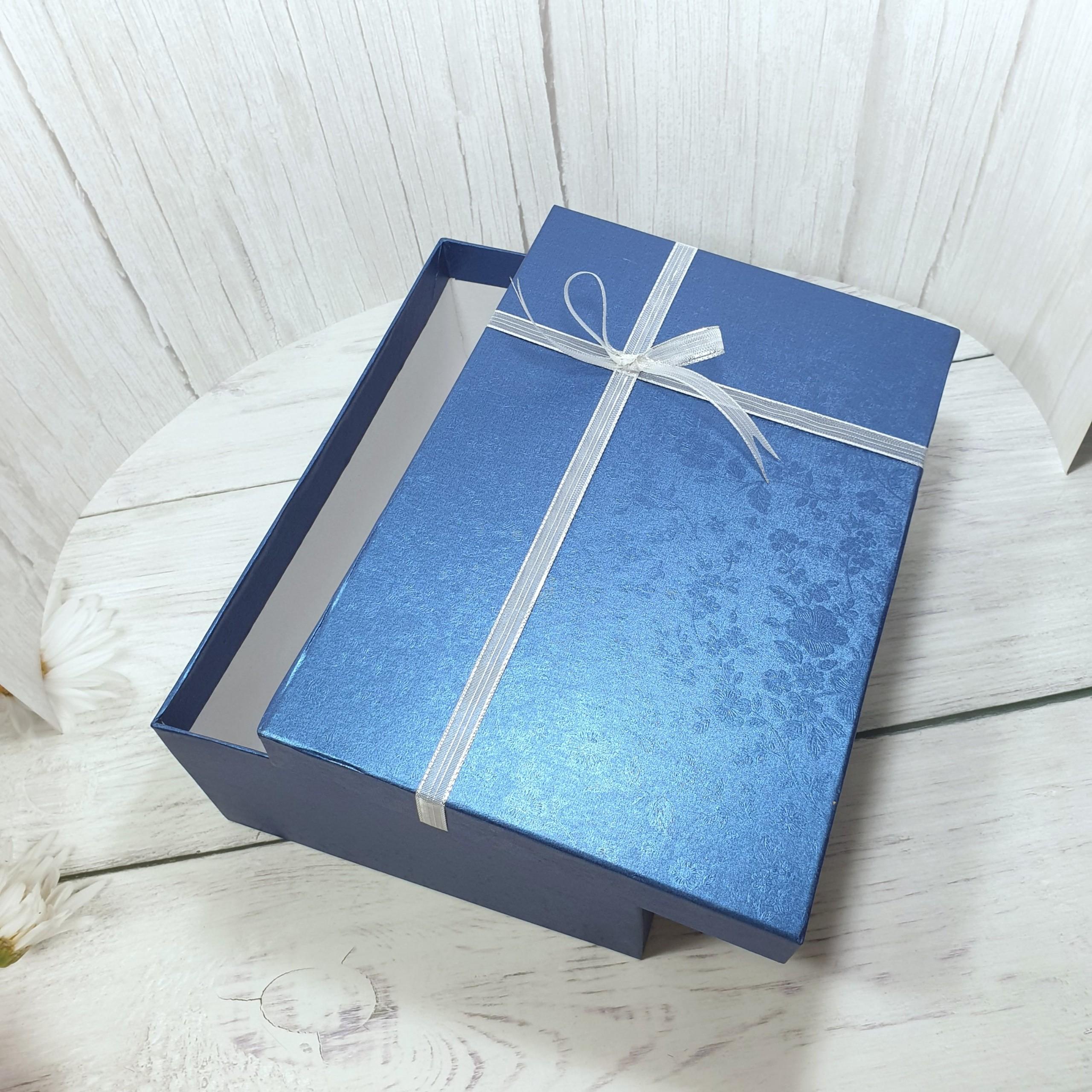 [Tặng thiệp + Giấy rơm] Hộp quà tặng bạn nam 30x20x10cm – HQ29