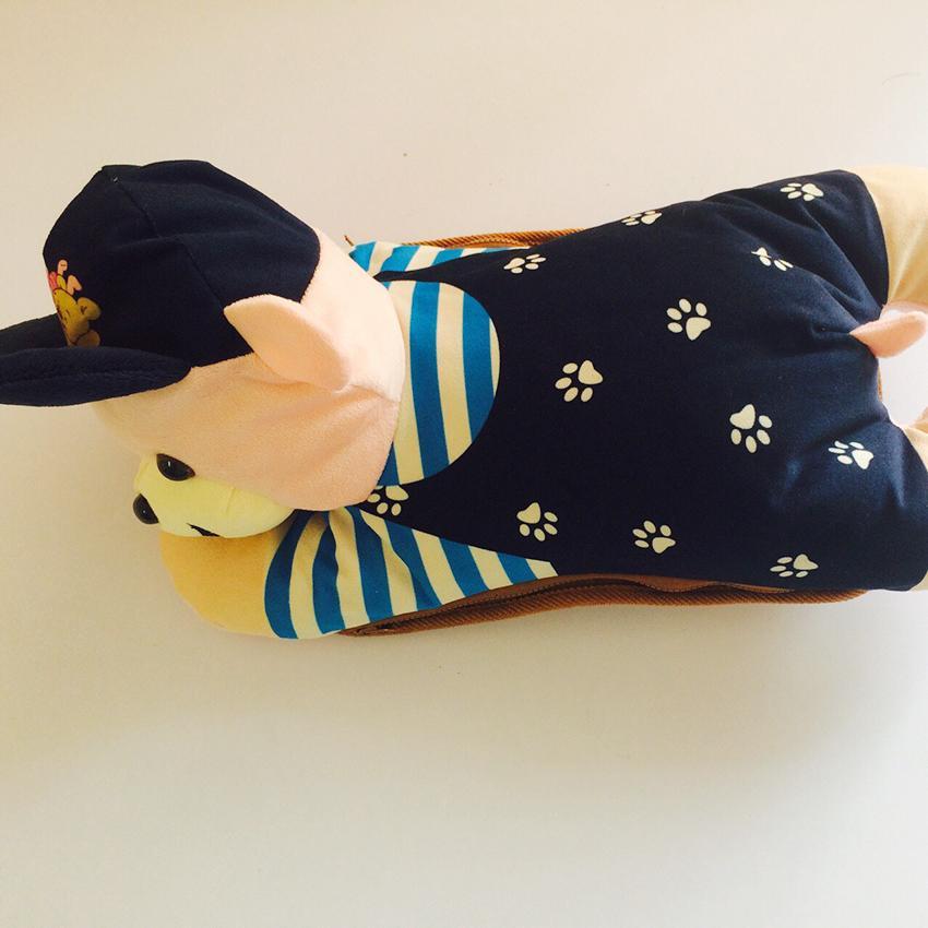 Túi Sưởi Ấm Lưng Hình Chó Dễ Thương Đa Năng - Dùng Điện - Màu Da - Mẫu TSL149