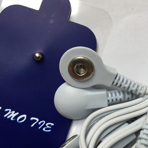 Máy xung điện trị liệu 8 miếng dán đầu ra kép đa chức năng. Máy châm cứu bấm huyệt 8 miếng dán