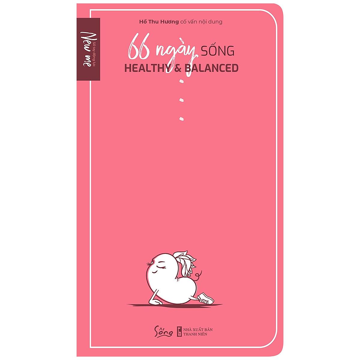 Combo 2 cuốn sách: Tế Bào Gốc - Bí mật của suối nguồn tươi trẻ + 66 Ngày Sống Healthy & Balanced