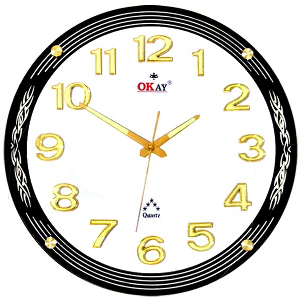 Đồng hồ treo tường thiết kế đẹp OKAY 171