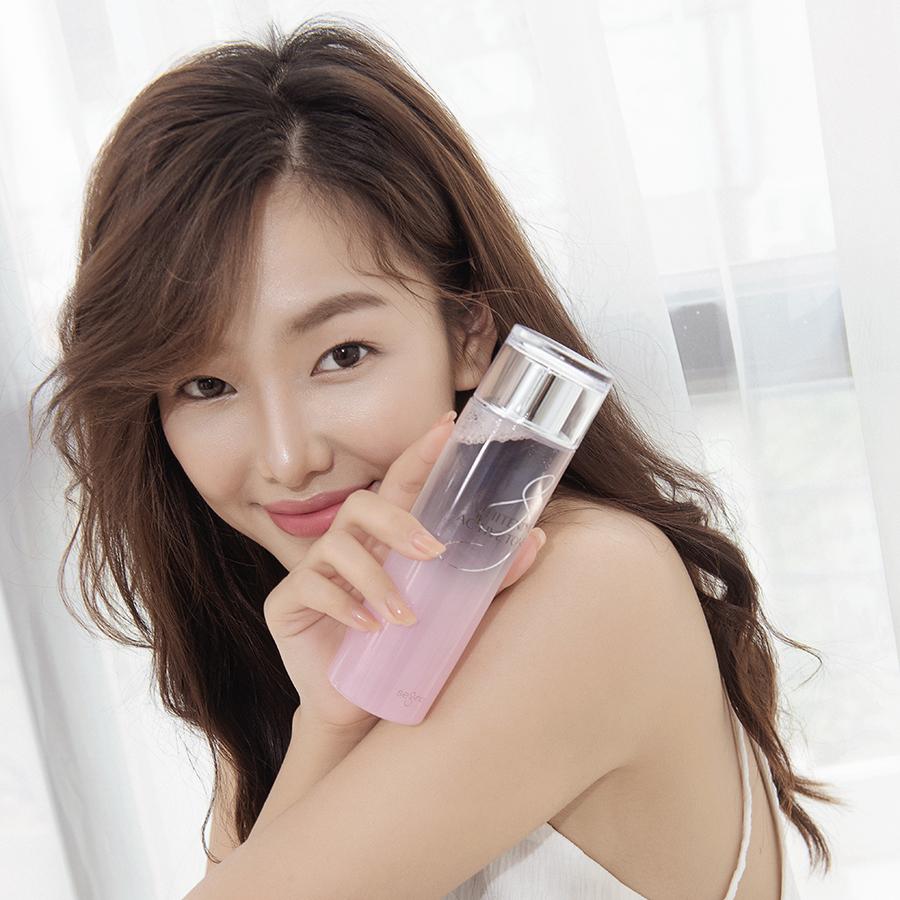 Toner dưỡng trắng, cấp ẩm, kiềm dầu cho da Segno Whitening Active Fresher Skin 200ml - Nhập khẩu 100% Hàn Quốc