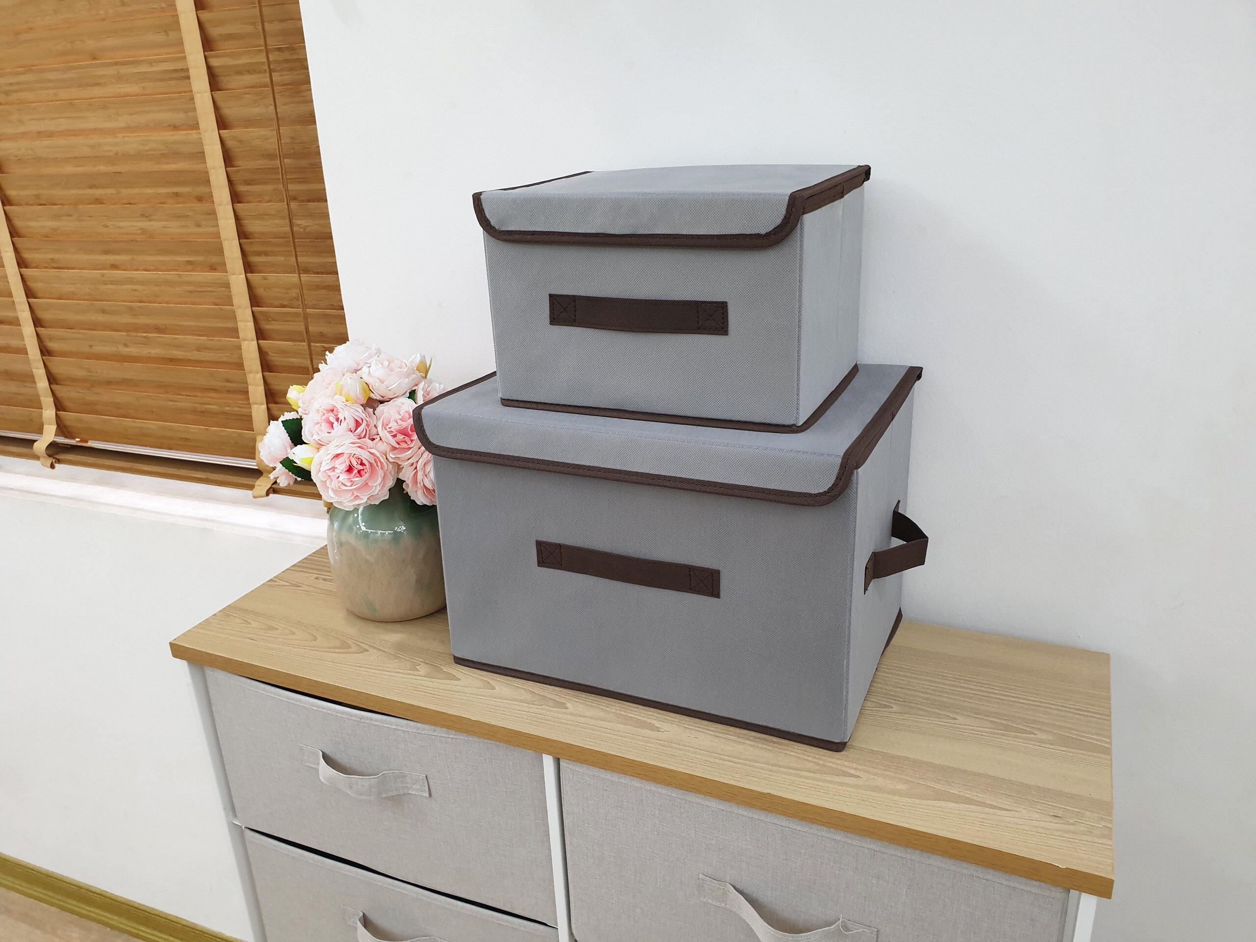 Bộ 5 giỏ đựng quần áo, tất, phụ kiện tiện gọn dễ tìm hàng Việt Nam cao cấp (Storage Box)