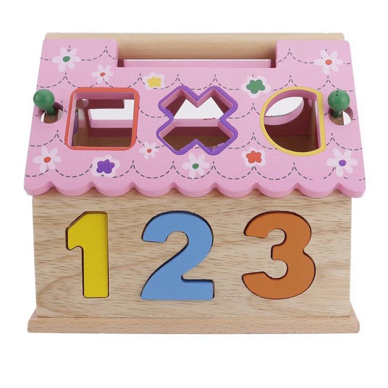 Đồ chơi gỗ cao cấp - Nhà thả hình hồng Nemotoys