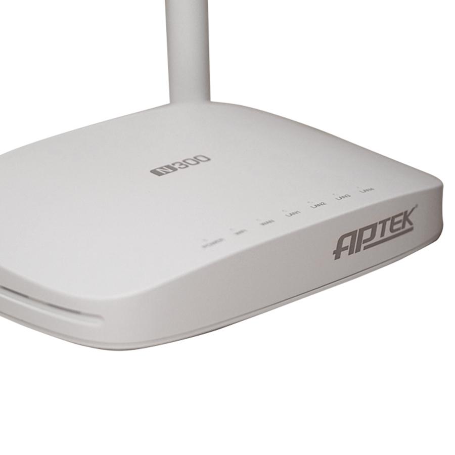 Router Wifi Chuẩn N300Mbps APTEK N302 - Hàng Chính Hãng