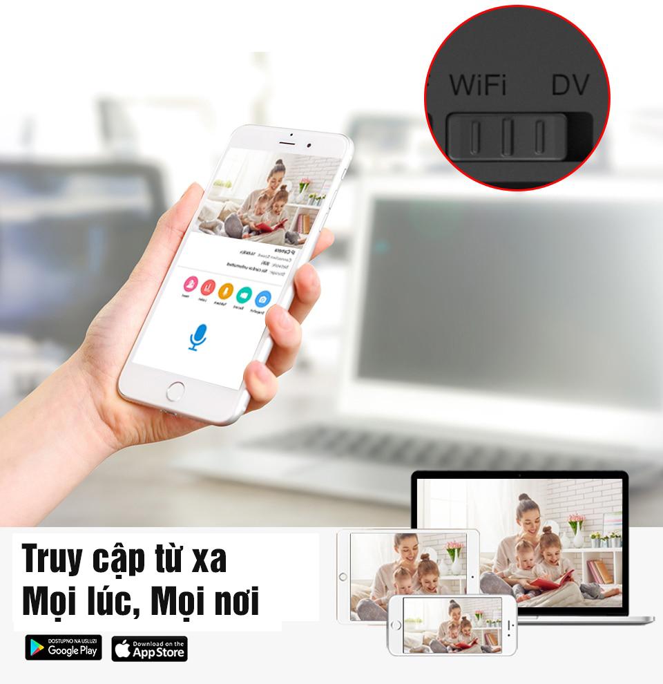 Camera Mini IP Vstarcam CB71 WiFi 1080P Giám Sát Hành Trình Ô Tô, Xem Trực Tiếp Từ Xa Bằng Điện Thoại, PC, iPad - Hàng Chính Hãng