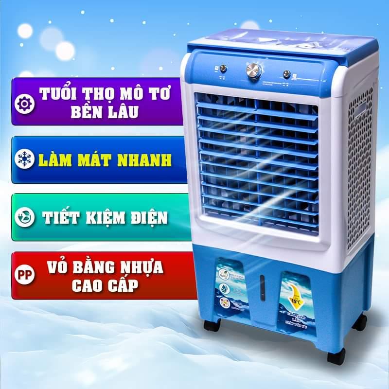 Quạt điều hòa quạt hơi nước 60 lít 200W