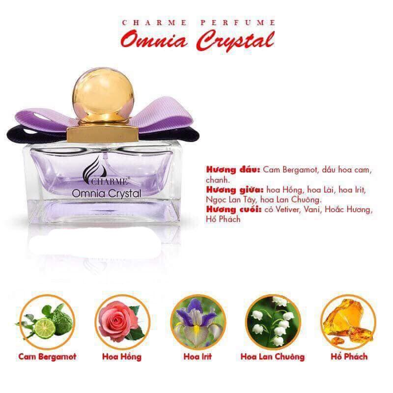 Nước Hoa Nữ Charme Omnia Crystal 30ml
