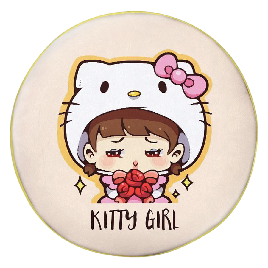 Gối Ôm Tròn Cô Bé Kitty GOCP155