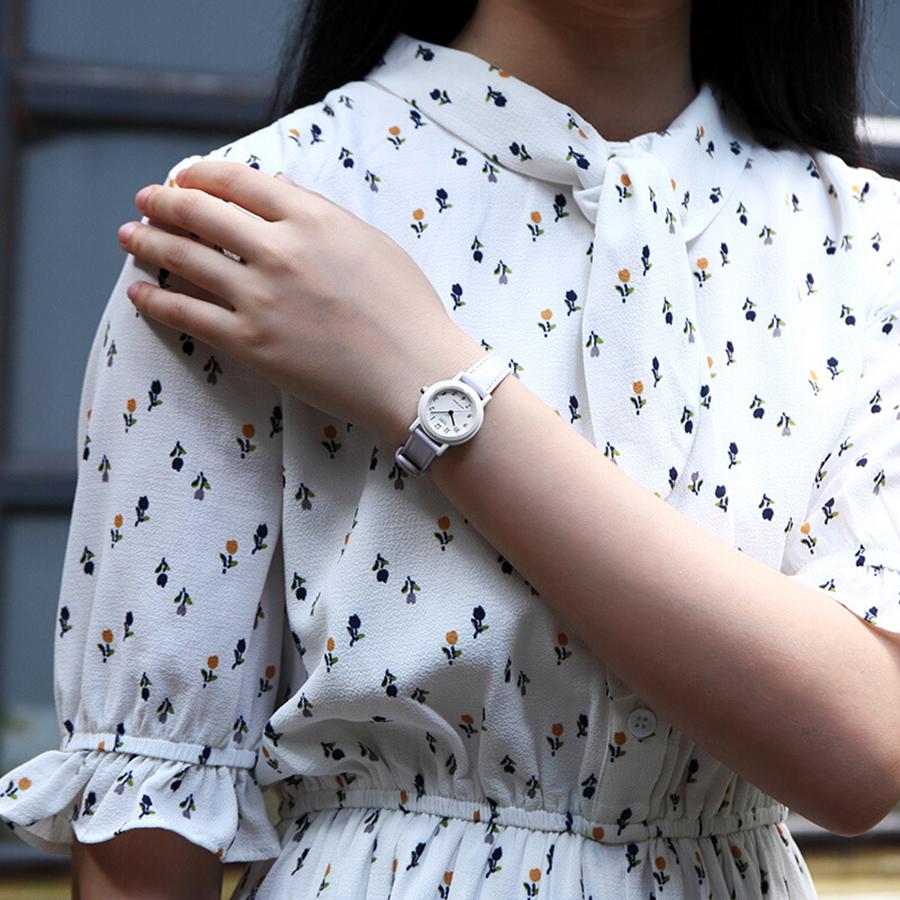 Đồng hồ nữ dây da Casio LQ-139L-6BDF