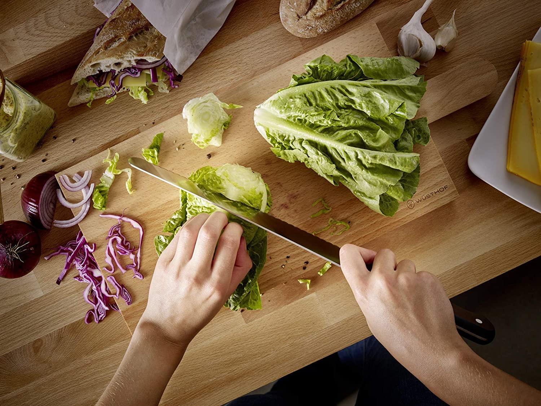 Bộ Ba Dao Bếp Cao Cấp Gourmet: Dao Chinese Style, Dao Santoku Và Kéo Gourmet - WUSTHOF Solingen Germany