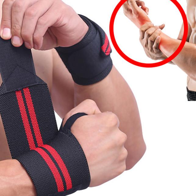Đôi đai quấn cổ tay chơi thể thao, tập gym cao cấp