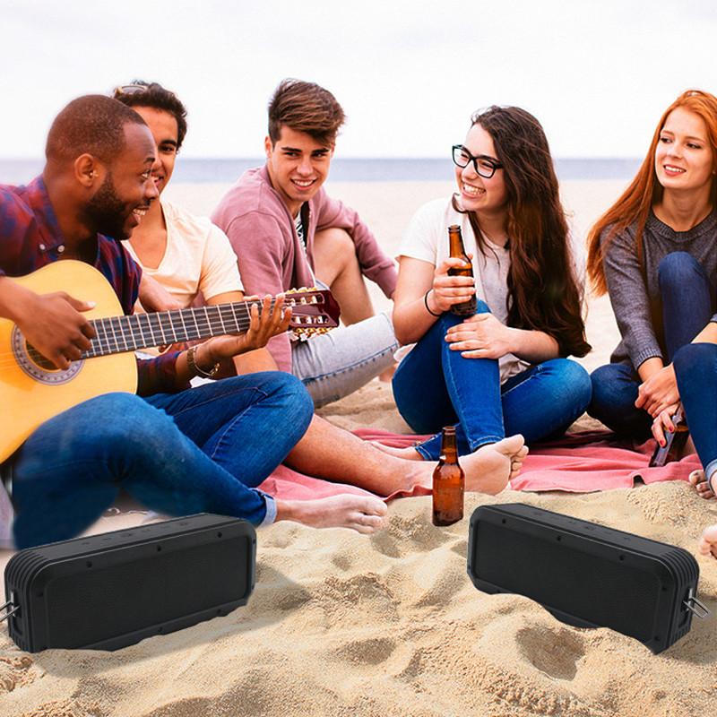 Loa Nghe Nhạc Công Suất Lớn 40W-X6 Hỗ Trợ TWS Âm Bass Trầm Công Nghệ Chống Thấm Nước IPX7 - Hàng Chính Hãng