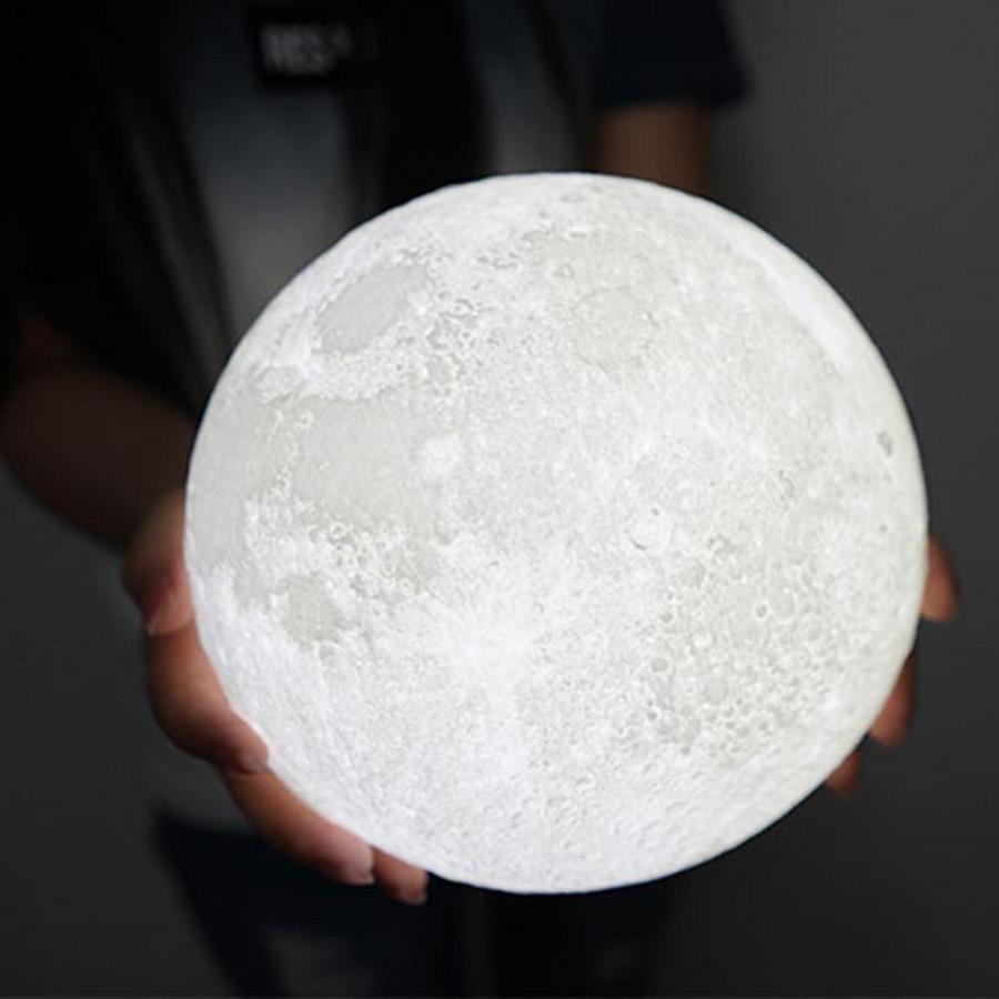 Đèn Mặt Trăng 3D  - 12cm