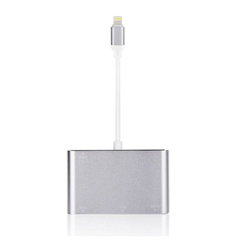 Cáp Lighting To HDMI / VGA / Audio Adapter - Cáp Kết Nối Iphone , Ipad Lên Màn Hình Full HD 1080