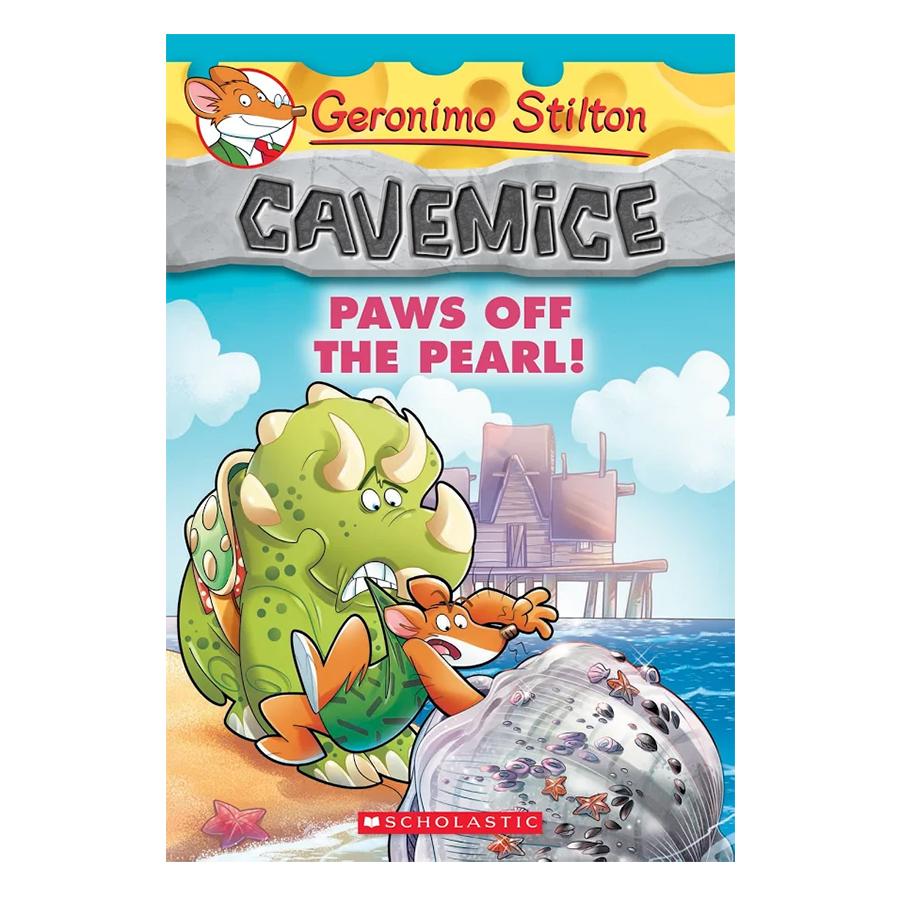 Geronimo Stilton Cavemice 12: Paws Off The Pearl!