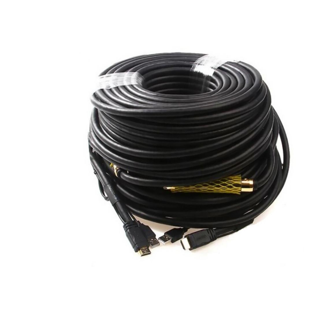 Cáp HDMI 1.4 (60m) + USB Unitek (Y-C 175)  - HÀNG CHÍNH HÃNG