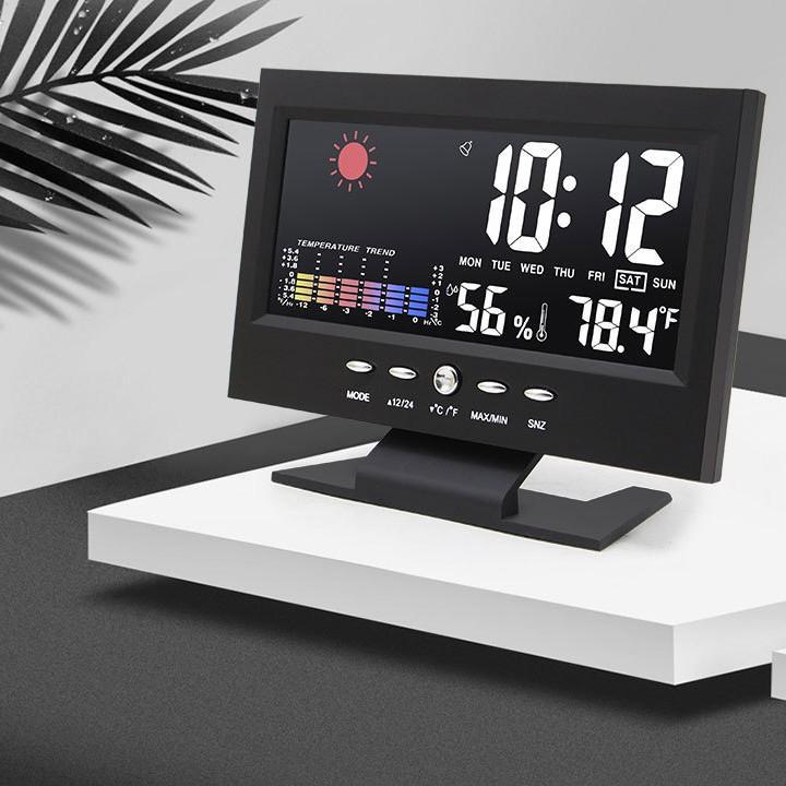 Đồng hồ để bàn led báo thức 206759