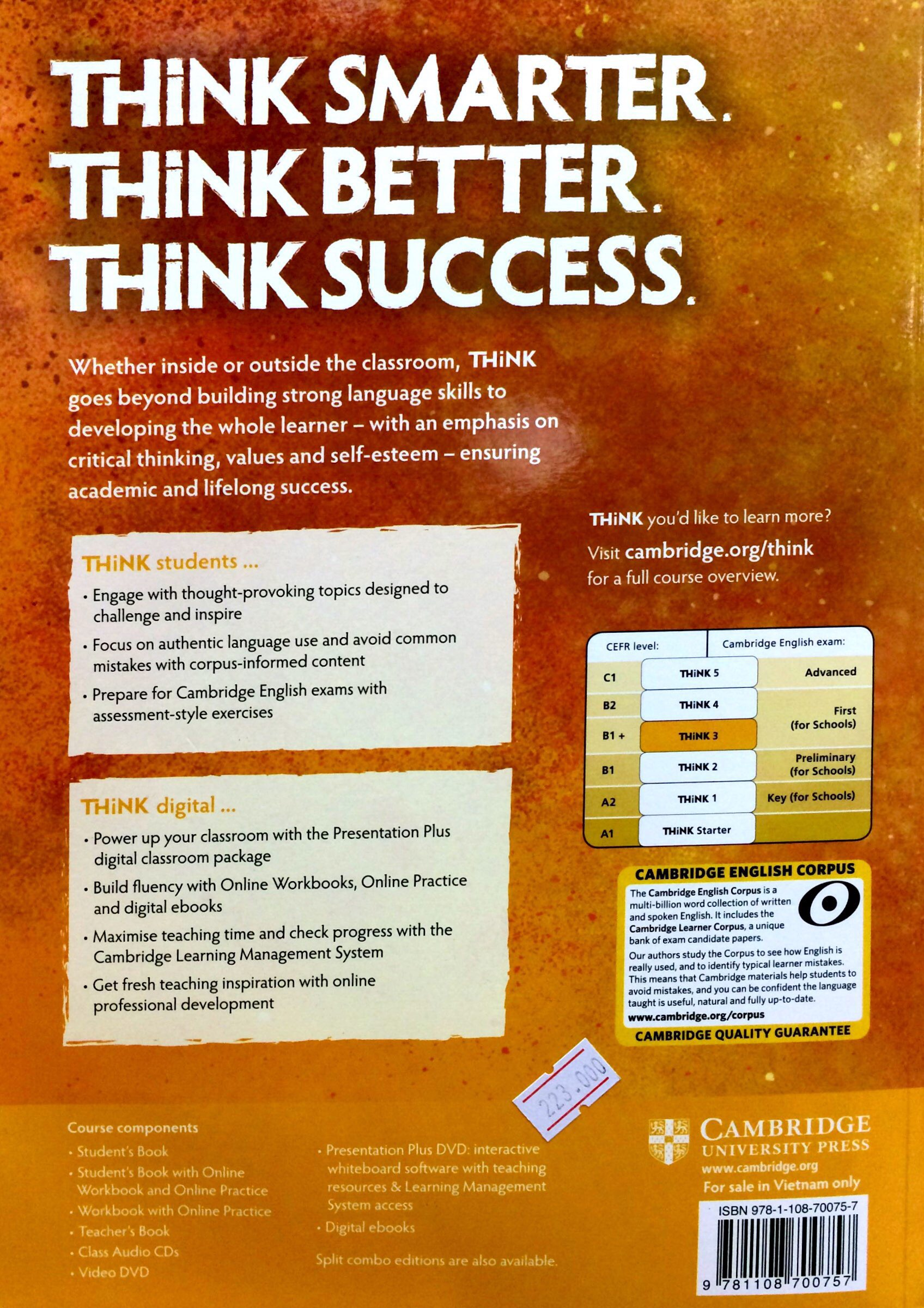 Think Student's Book Level 3 (B1+)