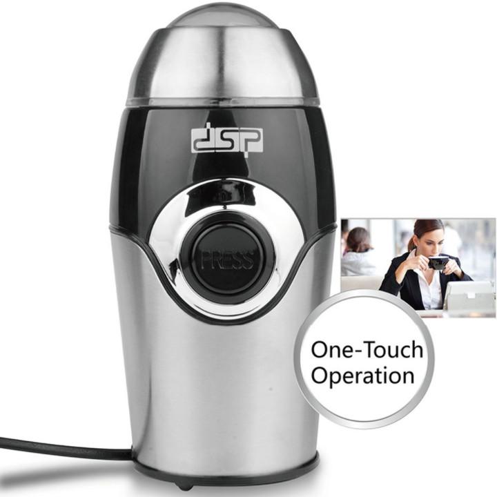 Máy xay cà phê và các loại hạt mini - Máy xay coffee - Máy xay hạt mini gia đình thương hiệu DSP công suất 200W KA3001 - Hàng nhập khẩu